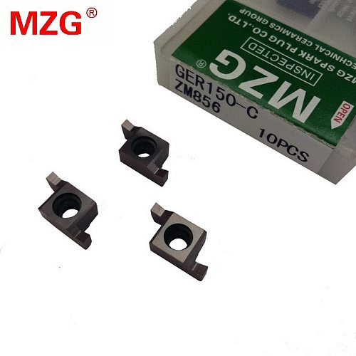 MZG GER200-C ZM856  Shallow End Grooving Cutter CNC Stainless Steel Lathe Cutting Tools Indexable Solid Carbide Inserts