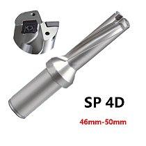 BEYOND SP 4D U Drill Indexable Drill Bit Shallow Hole CNC 46mm-50mm use Carbide Inserts SPMG Fast Drills Bit High Quality