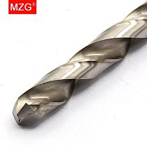 MZG L6542 Straight Shank HSS High Speed Steel 1.0mm 1.5mm 1.8mm Drill Bits for CNC Precision Hole Machining Milling Drilling
