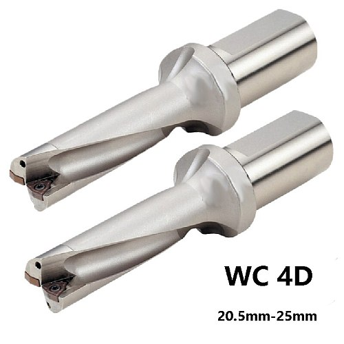 BEYOND U Drill 4D WC C25 20.5mm- 25mm Indexable Insert Drill Bit Tool Lathe Metal Drilling Tools for WCMT Insert Factory Outlet