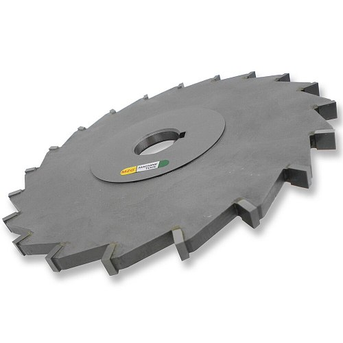 MZG Cutting Straight-Tooth 75-200mm Welding Edge Type Tungsten Steel Side Milling Cutter, T-groove Milling Cutter Processing