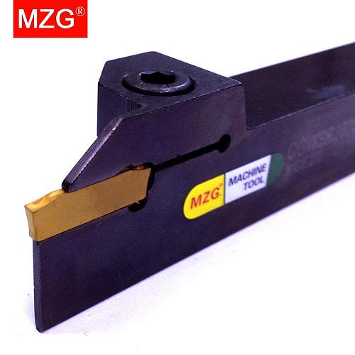MZG CGWSR 16 20 25 mm CNC Lathe Machining External Cutting WGE Insert Toolholder Groove Processing Cutter Parting Grooving Tools