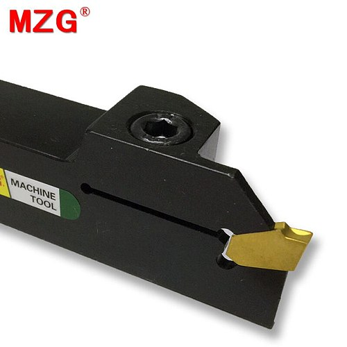 MZG ZQ2020L-5 ZQ2525L-5 Width Grooving CNC Lathe Machining Cutting Toolholder Metal Grooving Blades Parting Cutter Boring Tool
