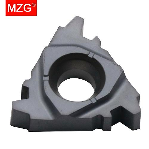 MZG DIN103 16ER1.5TR 16ERM2TR ZM860 CNC External Stainless Steel Threading  Toolholders Indexable Carbide Screw Thread Inserts