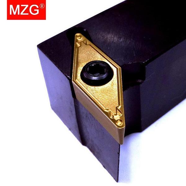 MZG SVUBR 20 20 16*16 Lathe Machining Cutter Bar S Type Boring Toolholder VBMT Carbide Insert CNC External Turning Tool Holder