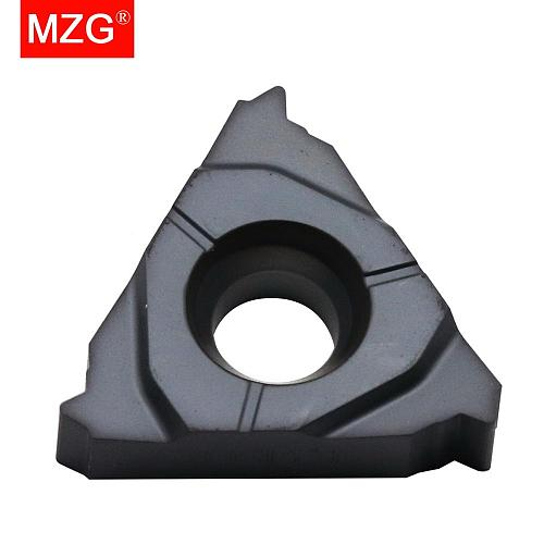 16ER 14 BSPT ZM860 CNC External Threading Tools Indexable Tungsten Carbide Screw Thread Inserts for Stainless Steel Processing