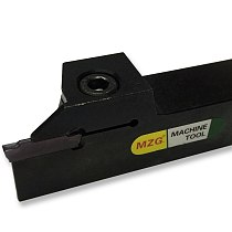 MZG MGEHR2525-6 Width Groove CNC Lathe Machining Cutting Toolholders Cutter Parting and Face Grooving Tools