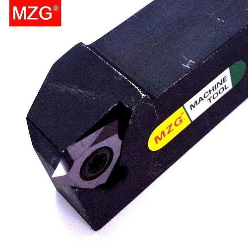 MZG KTTXR 2020K16 10*10 16*16 Small Parts Processing External Thread Machining Arbor Cutting Toolholders Metal Threading Tools