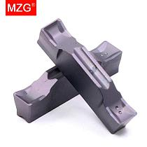 MZG 10PCS  TDC 2 3 4 Stainless Steel Turning Machining Double Head Grooving Toolholder Carbide Inserts for TTER/L Cutting Tools