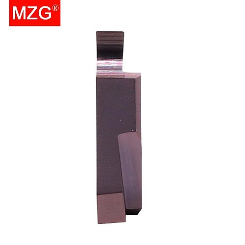 MZG Triangle TGF32R 050 200 075 ZM856 Stainless Steel Shallow Grooving Cutter CNC Lathe Cutting Tools Solid Carbide Inserts