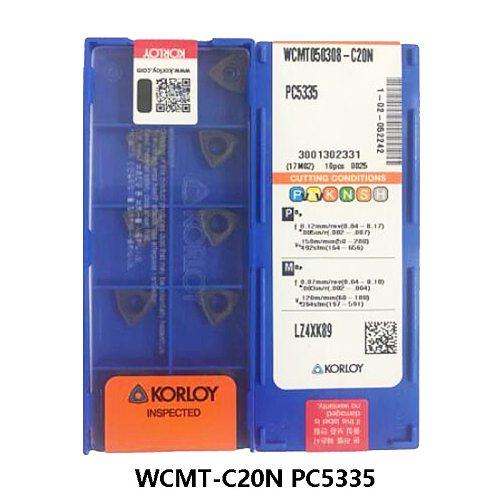 Carbide Cutting Inserts for Drill WCMT030208 WCMT040208 WCMT050308 WCMT06T308 WCMT080408 WCMT080412 C20N PC5335 Drills Lathe CNC