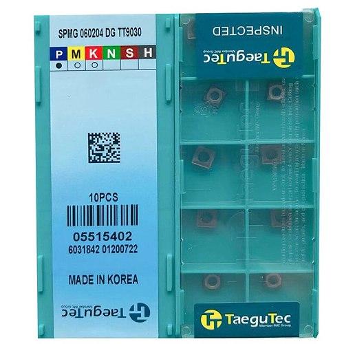 SPMG SPMG110408 SPMG120408 SPMG140512 SPMG050204 SPMG060204 SPMG07T308 SPMG090408 DG TT9030 Lathe Cutter for U drill P M 10pcs