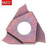 MZG Triangle TGF32L050 TGF32L075 ZM856 Stainless Steel Shallow Grooving Cutter CNC Lathe Cutting Tools Solid Carbide Inserts