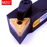 MZG MTQNR 20mm 25mm Boring Machining Cutter Metal Cutting TNMG Carbide Toolholder External Turning Tool Holder CNC Lathe Arbor