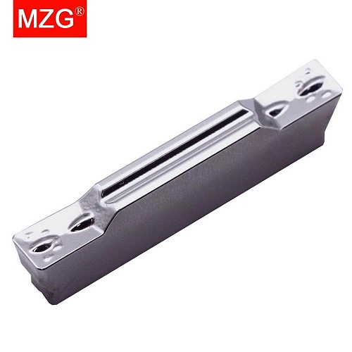 MZG 10PCS MGMN 150 ZPW10 Machining Aluminum Copper Non-ferrous Shallow Turning Grooving Toolholder Indexable Carbide Inserts
