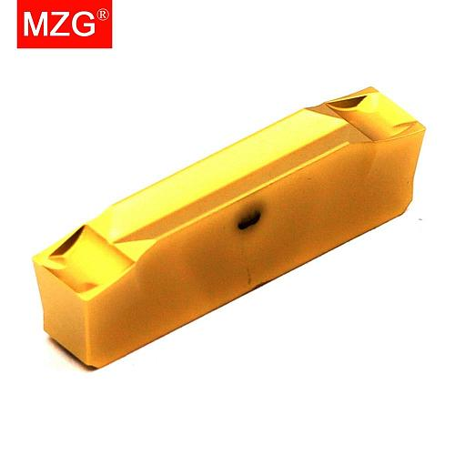 MZG 10PCS Groove WGE 2.0 3 4 CNC Lathe Machining External Cutting Toolholder Cutter Parting Grooving CGWSR Tools Carbide Inserts