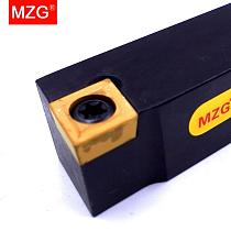 MZG 10mm 12mm SCACR 1010 CNC Turning Arbor Lathe Cutter Bar Hole Processing Clamped Steel CCMT Toolholders External Boring Tool