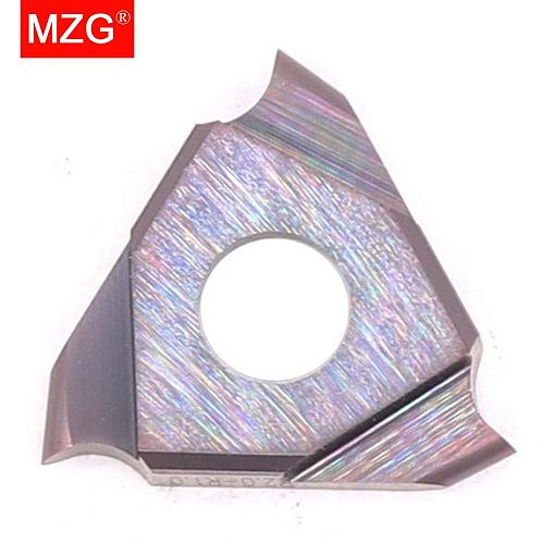 MZG Triangle TGF32R150-R0. 75 ZM856 Stainless Steel Shallow Grooving Cutter CNC Lathe Cutting Tools Solid Carbide Inserts