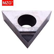 MZG 1PCS TCGT  0902 1102 16T3 0802 PCD TCMT Turning Boring CNC Cutting Aluminum Copper Machining  Lathe Carbide Inserts