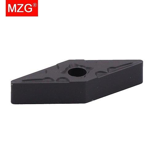 MZG VNMG160408 PM ZC2511 CNC Lathe Boring Turning Steel Processing MVJN MVUN Holder Cutting Tool Solid Carbide Inserts