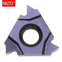 MZG 10PCS 22IR ISO  ZP10 CNC Lathe Stainless Steel Turning Internal Threading Toolholder Tungsten Carbide Thread Inserts