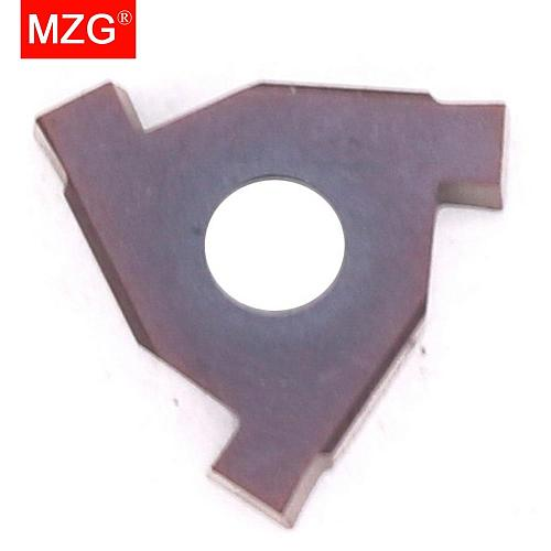 MZG T16N200 T16N250 ZM856 Stainless Steel Shallow Grooving Cutter CNC Lathe Cutting Groove Tools Indexable Solid Carbide Inserts