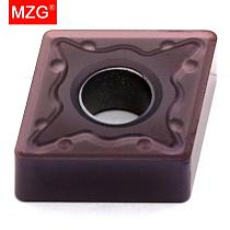 MZG CNMG120404 CNMG120408 MM ZP1521 Boring Turning CNC Cutting Tools Tungsten Carbide Inserts for  Stainless Steel Processing