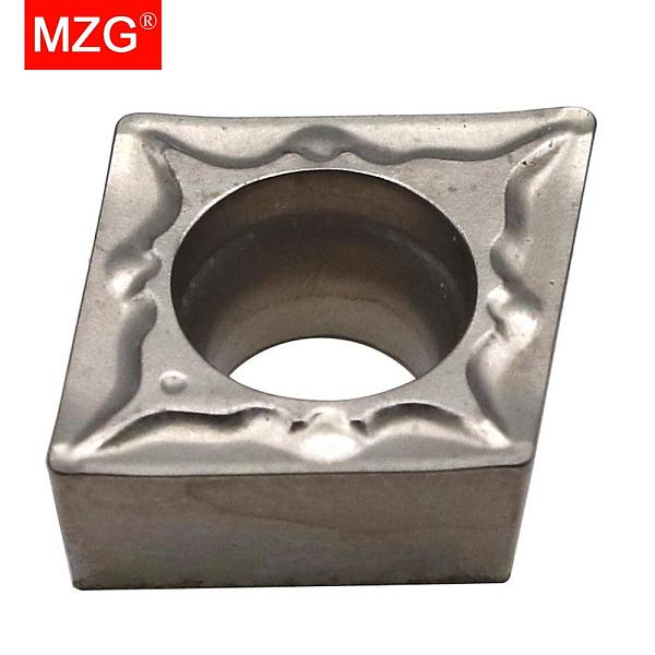 MZG CCMT060202 GP ZN60 Turning Boring Cutting CNC Lathe Cutter Carbide Cermet Inserts for Steel Processing SCLC Toolholder