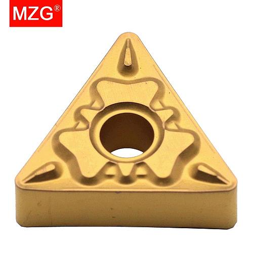 MZG Discount Price TNMG160404-HQ ZC25 CNC Turning Cutter Medium Finish Machining of Steel Tungsten Carbide Inserts