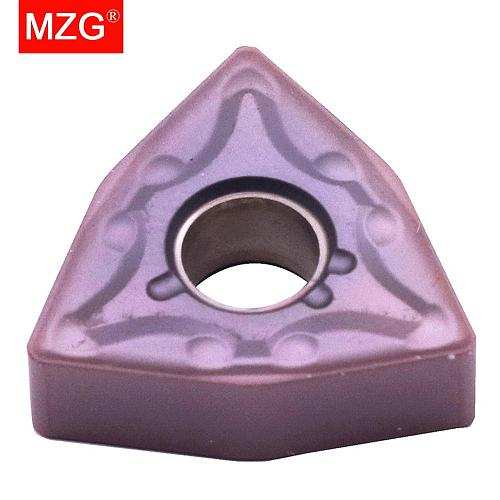 MZG Discount Price WNMG080404-MA ZM30 Finish Stainless Steel Processing Machining CNC Carbide Inserts