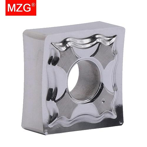 MZG SNMG120408-HA ZK01 Turning CNC Cutting Tool Tungsten Carbide Inserts Aluminum Processing for Holder MSBN MSKN MSDNN