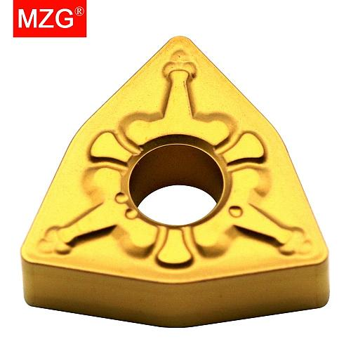 MZG Discount Price WNMG080404-TM ZC25 Cutters Medium Finish Machining of Steel Processing CNC Carbide Inserts