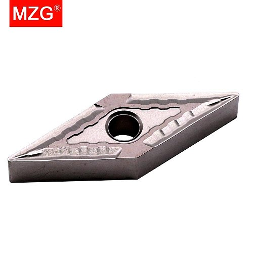 MZG VNMG160404-MT ZN60 CNC Cutting Boring Turning Solid Carbide Cermet Inserts for Steel Highlight MVJN MVUN Holder