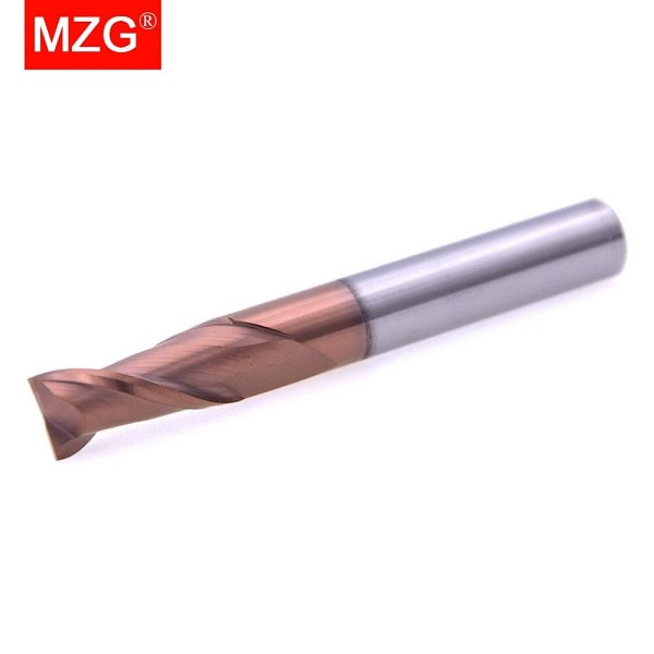 MZG Cutting HRC60 2 Flute Lengthen End Mill 100L 2mm 4mm Milling Machining  Tungsten Steel Sprial  Milling Cutter End Mill