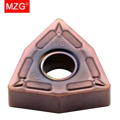 MZG Discount Price WNMG080404-MQ ZM30 Finish Machining Stainless Steel Processing CNC Carbide Inserts