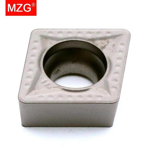 MZG 10PCS CCMT 09T308 060204 MT ZN60 Turning Boring Cutting CNC  Carbide Cermet Inserts for Steel Processing SCLC Toolholder