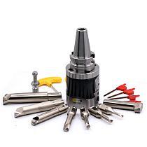 MZG CAT 40 NBH 2084 8PCS CNC Lathe Machining  Boring Cutter Carbide Bar Tool Micro Finishing High Precision Toolholder