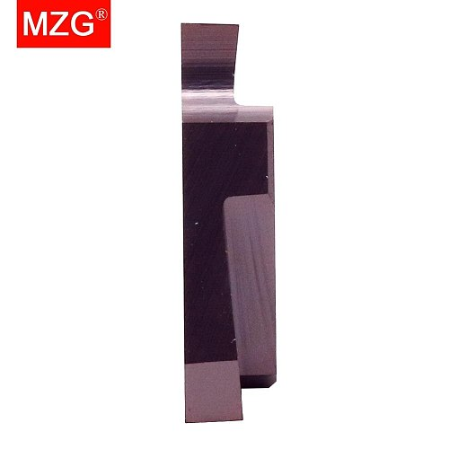MZG 10PCS TGF32R 2.0 3.0 2.5 Groove ZP15 CNC  Stainless Steel Processing Machining Finish Carbide Inserts