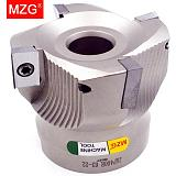 MZG 1PCS BAP400R 40 50 63 MM  Four Insert Clamped Machining Cutting End Mill Shank Shoulder Right Angle  Milling Cutter