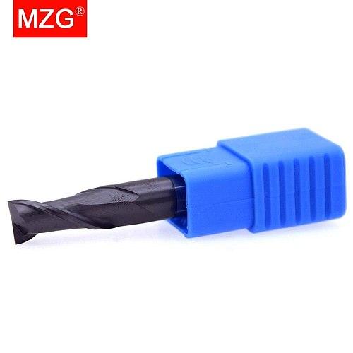 MZG 2 Flute Cutting HRC50 Lengthen End Mill 75L  2mm 4mm Machining  Tungsten Steel Bit  Milling Cutter