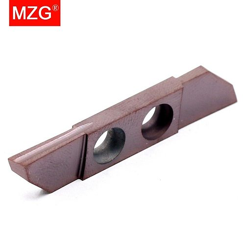 MZG 5PCS CTPW 42R200 42R250CU15R ZM856 Small Part Stainless Steel Machining Grooving Cutting-off Toolholder Solid Carbide Insert