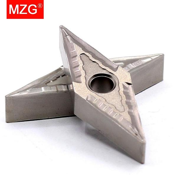 MZG Discount Price VNMG160404-MT ZN60 Cutter Cermet Medium And Fine Steel Parts Have Good Finish CNC Carbide Inserts