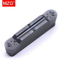 MZG 10PCS MRMN 200 300 400 ZP30 CNC Steel Groove Turning Lathe Machining Tools Toolholders Indexable Solid Carbide Inserts