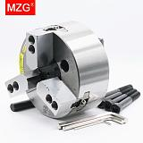 MZG SB-210 10 inch 3 Jaw Hollow Power Chuck for CNC Lathe Boring Cutting Tool Holder Hole Machining