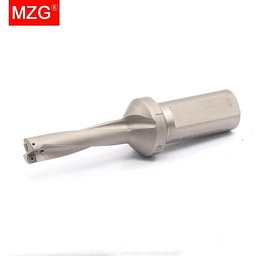 MZG D2 D3 D4 SOMT 12MM 10MM 11MM Carbide Inserts  U Bits Drilling Hole Machining Center Abandon Metal Tools U Fast Drills