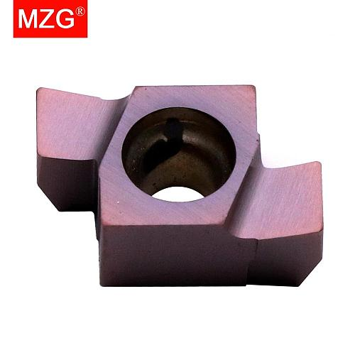 MZG 9GR 200  100 150 Machining Stainless Steel Cast Iron Shallow Turning Grooving Toolholders Indexable Carbide Inserts