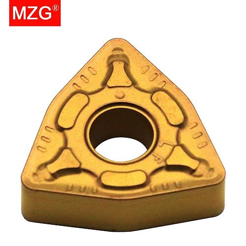 MZG Discount Price WNMG080408-CM ZC25 Medium Finish Machining of Steel Processing Cutters CNC Carbide Inserts