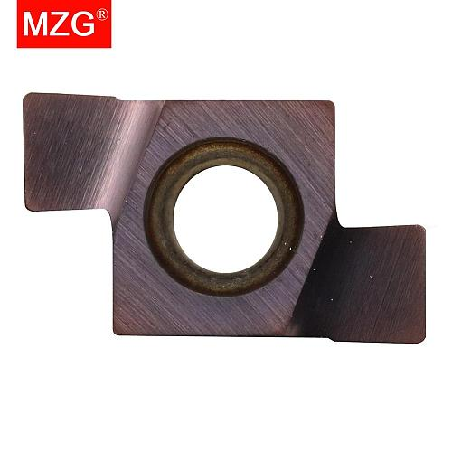 MZG 10PCS 8GR 350 Shallow Turning Grooving Machining Stainless Steel Cast Iron Toolholders Indexable Carbide Inserts