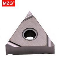 MZG 10PCS TNGG 1604 02 04 ZN90 Steel Machining Semi-Finish CNC Turning  Tool Cermet Inserts