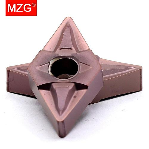 MZG 10PCS DNMG 1506 MF ZP1521 Stainless Steel CNC Cutting Boring Turning Machining Toolholder  Indexable Carbide Inserts